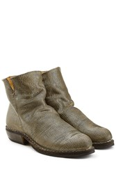 Fiorentini Baker And Textured Leather Ankle Boots Gold