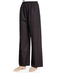 Eskandar Wide Leg Trousers Brown