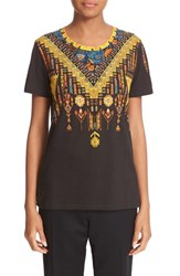 Etro Women's Print Cotton Tee