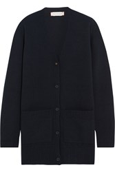 Chinti And Parker Merino Wool And Cashmere Blend Cardigan