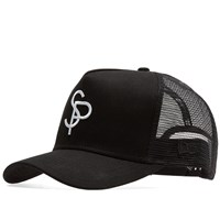 Sophnet. X New Era Mesh Cap Black