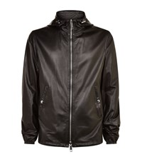Burberry Reversible Leather Jacket Male Black