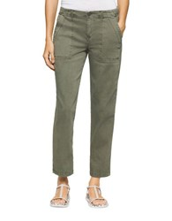 Calvin Klein Jeans Utility Cropped Pants Olive Night