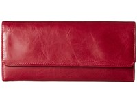 Hobo Sadie Red Plum Wallet Handbags
