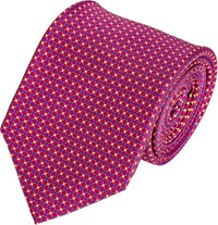 Battistoni Faille Neck Tie Purple