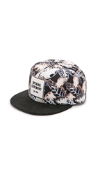 Opening Ceremony New Era 59Fifty Painted Leaves Hat Blush Pink Multi