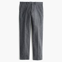 J.Crew Bowery Slim Pant In Brushed Cotton Twill Charcoal Canvas
