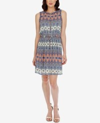Lucky Brand Sleeveless Printed Dress Multi