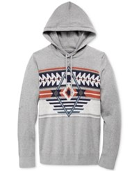 American Rag Men's Santa Fe Hoodie Only At Macy's Ar Pewter Heather