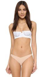 Free People Oh My Darling Underwire Bra White