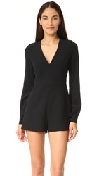 Alexis Kourtney Romper Black