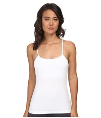Ongossamer Cabana Cotton Shelf Cami White Women's Pajama