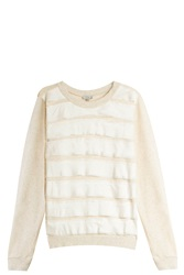 Clu Silk Panelled Sweater