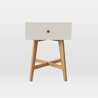 Tall Storage Nightstand White West Elm