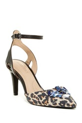 Ellen Tracy Prom Ankle Strap Pump Black