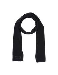 Armani Jeans Oblong Scarves Black