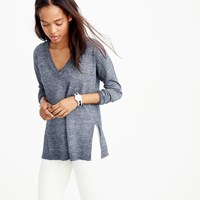 J.Crew Merino Linen V Neck Sweater