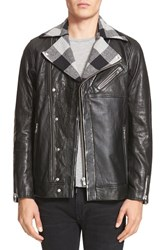 Drifter Men's 'Maverick' Leather Moto Jacket