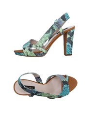 Escada Footwear Sandals Women Light Green