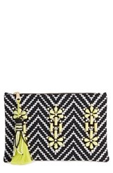 Shiraleah 'Asta' Embellished Zip Pouch