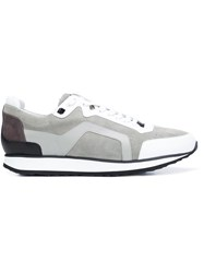 Pierre Hardy 'Track' Sneakers Grey