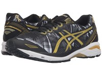 Asics Gt 1000 5 Gr Black Rich Gold Gold Ribbon Men's Running Shoes