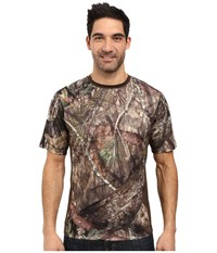 Columbia Stealth Shot Iii Zero Short Sleeve Shirt Mossy Oak Breakup Country Cordovan Men's Short Sleeve Pullover Gold