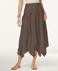Styleandco. Style And Co. Petite Handkerchief Hem Skirt Only At Macy's