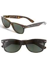 Ray Ban 'New Large Wayfarer' 55Mm Sunglasses Dark Tortoise
