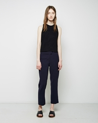 Nomia Cropped Flare Trouser Midnight