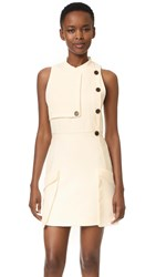 Camilla And Marc Soft Tailoring Mini Dress Warm Creme