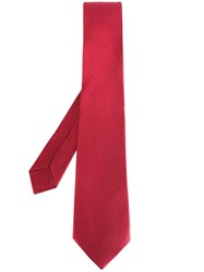 Kiton Classic Tie Red
