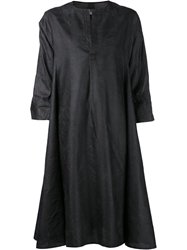 Dosa Shirt Dress Black