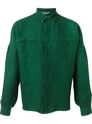 Missoni Vintage Oversized Shirt Green