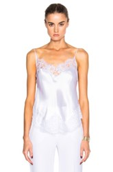 Givenchy Silk Satin Camisole In White