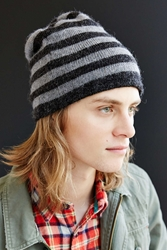 Urban Outfitters American Mohair Slouchy Rugby Beanie Grey