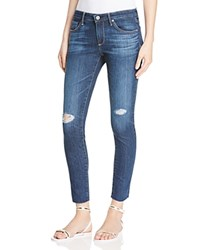 Ag Jeans Ag Legging Ankle Jeans In Never Ending Destroyed