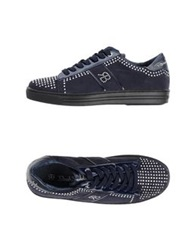 Renato Balestra Low Tops And Trainers Dark Blue