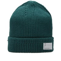 Visvim Cotton Knit Beanie Green