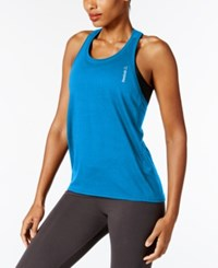 Reebok Element Burnout Racerback Tank Top Instinct Blue