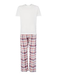 Howick T Shirt And Pants Pyjama Set Multi Coloured