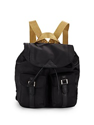 Sam Edelman Metallic Strap Backpack Black