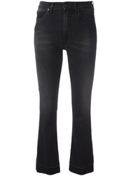People Flared Jeans Black