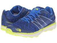 The North Face Litewave Tr Blue Quartz Latern Green Men's Running Shoes