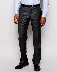Dkny Classic Fit Suit Trousers Tailor To Fit Hem Grey