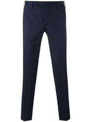 Pt01 Slim Fit Trousers Blue