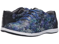 Alegria Essence Winter Garden Navy Women's Lace Up Casual Shoes Blue