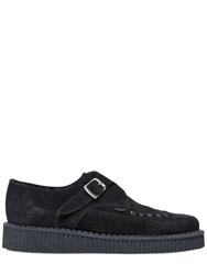 Underground 30Mm Paul Suede Creepers Black