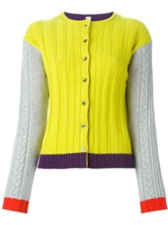 Antonio Marras Colour Block Cardigan Multicolour