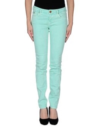 Maison Scotch Denim Pants Light Green